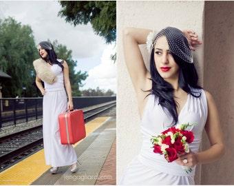 Floor Length Infinity Convertible Wrap Twist Dress...Brides or Bridesmaids...67 Colors ... Budget Bride, Beach, Destination Wedding