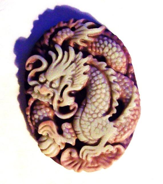 ZiPao Jade Celestial Dragon Pendant