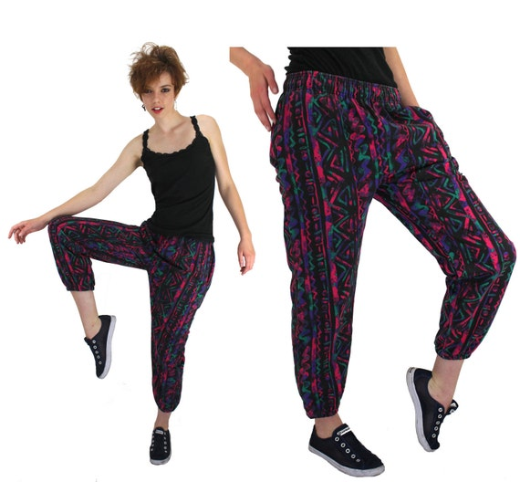 Harem / MC Hammer pants with weird front buttoning panels. I remember some girls wearing these in high school. An ugly trend taken to the next level. Find this Pin and more on A Teenager of the 's by Carrie Cassidy. Harem / MC Hammer pants with weird front buttoning panels. I had a red pair with a matching shirt I wore on my birthday.