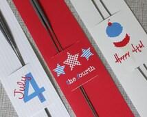 Printable Sparkler Holder Set- 4th of July