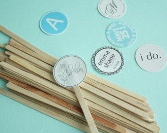 Wooden Stir Sticks (7.5 inches)