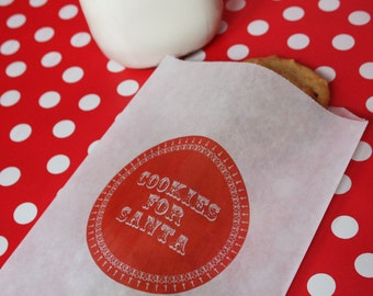 Printable Bag Design- Cookies for Santa