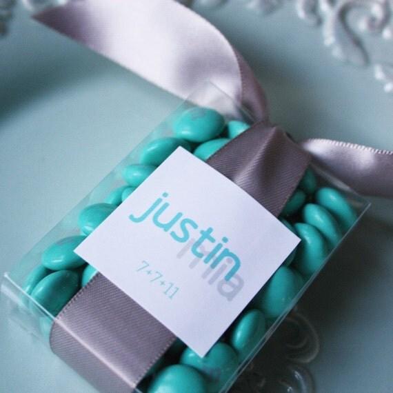 Wedding Favor Label (printable)