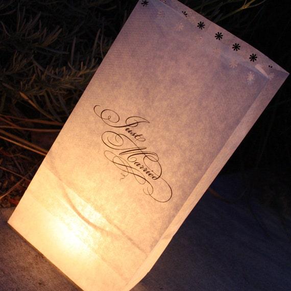 Wedding Luminaire (printable)