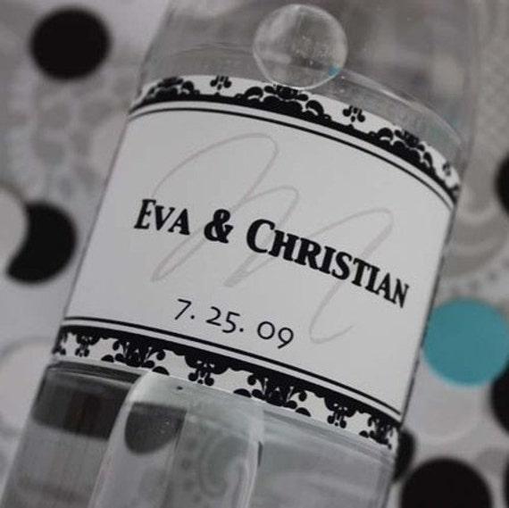 Water-resistant Vinyl Inkjet Water Bottle Label Sheets