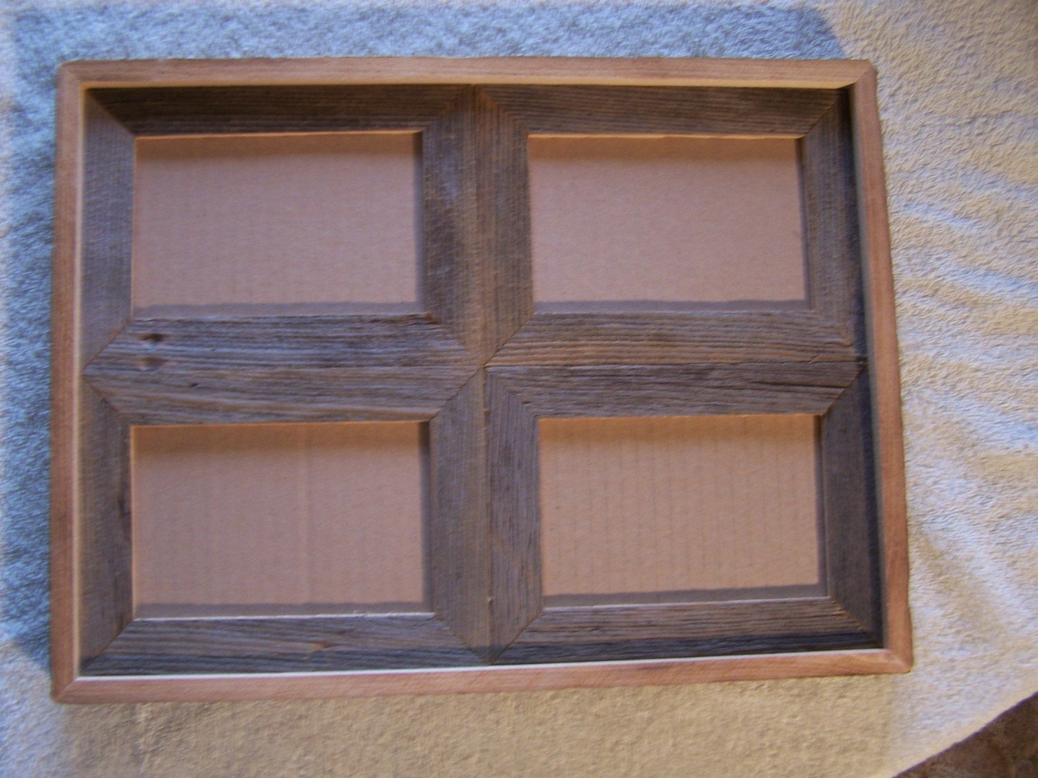 4 X 6 4 Picture Rustic Barnwood Collage Frame