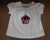 Personalized Cupcake Tee