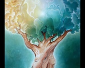 The Earth Tree - Greeting Card - 5 x 7