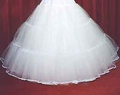 5 layer stiff net bridal petticoat custom made choice of colour and size