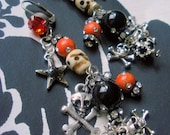 Halloweenish earrings RESERVED LISTING FOR Brightflame