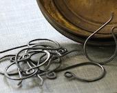 bulk order- oxidized copper earwires