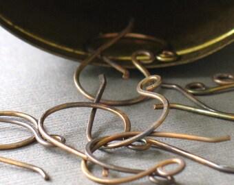 bulk order- brass earwires
