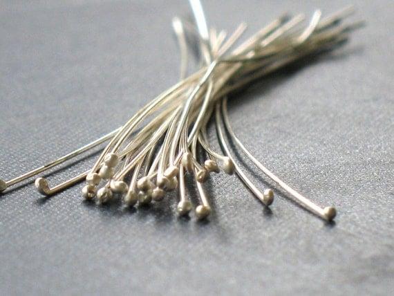 Basket Weaving Supplies Raleigh Nc : Sterling silver head handmade ball qty