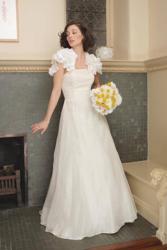 SAMPLE SALE Size 6 Couture Eco-friendly Wedding Dress - Jane