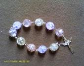 Unique Prayer Bracelet....handmade