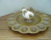 Wonderful Egg Plate with Chicken shaker