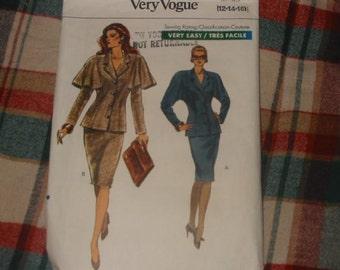 1989 Vouge misses jacket and skirt