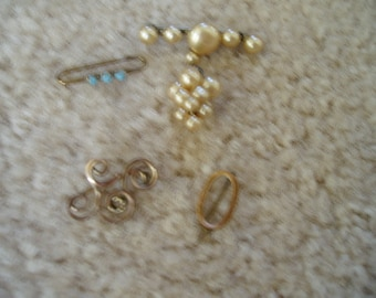 Antique Tiny Brooches......  Marked down