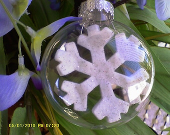 Snowflake......ornament     2 for 12.00