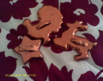 Vintage Cookie Cutters..........lot of 3