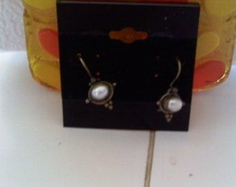 Vintage Pearls..........Earrings SALE