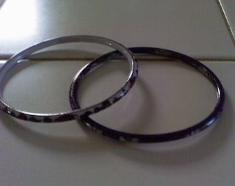 Vintage Cloisinne  bracelets.........lot of 2...