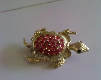 Lucky Turtle Brooch