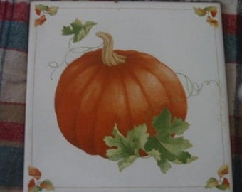 Shades Of Autumn............ tile, trivet