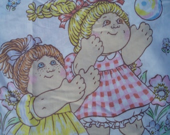 1 Cabbage Patch  vintage sheet .Bed sheet. sheet for child.