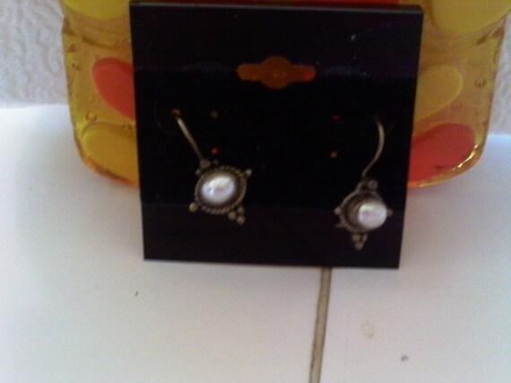 Vintage Pearls..........Earrings SALE