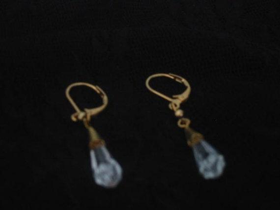 With A Vintage Look/ handmade earrings