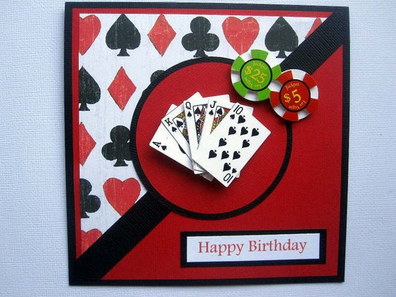 Poker Birthday Pictures to Pin PinsDaddy – Poker Birthday Cards
