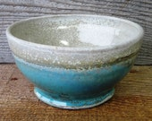 Wood-Fired Turquoise Bowl VI