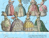 Love Marie Paper Dolls - Set Two