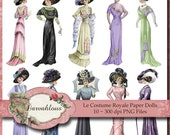 NEW Le Costume Royale -  Victorian Paper Dolls