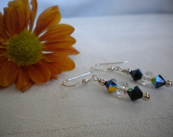 VERONICA-Sterling Silver & Swarovski Earrings