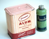 What is Alum - Vintage Tins From the Medicine Chest