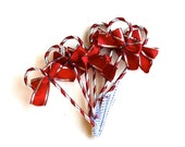 A Bouquet of Candy Canes . . . Vintage Candy Cane Picks