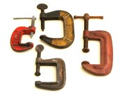 Clamp it . . . Instant Collection of Vintage C Clamps