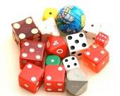 Vegas Mementos . . . Vintage Dice and Vintage Game Pieces