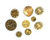 In Case You Collect Buttons . . . Antique Metal Buttons