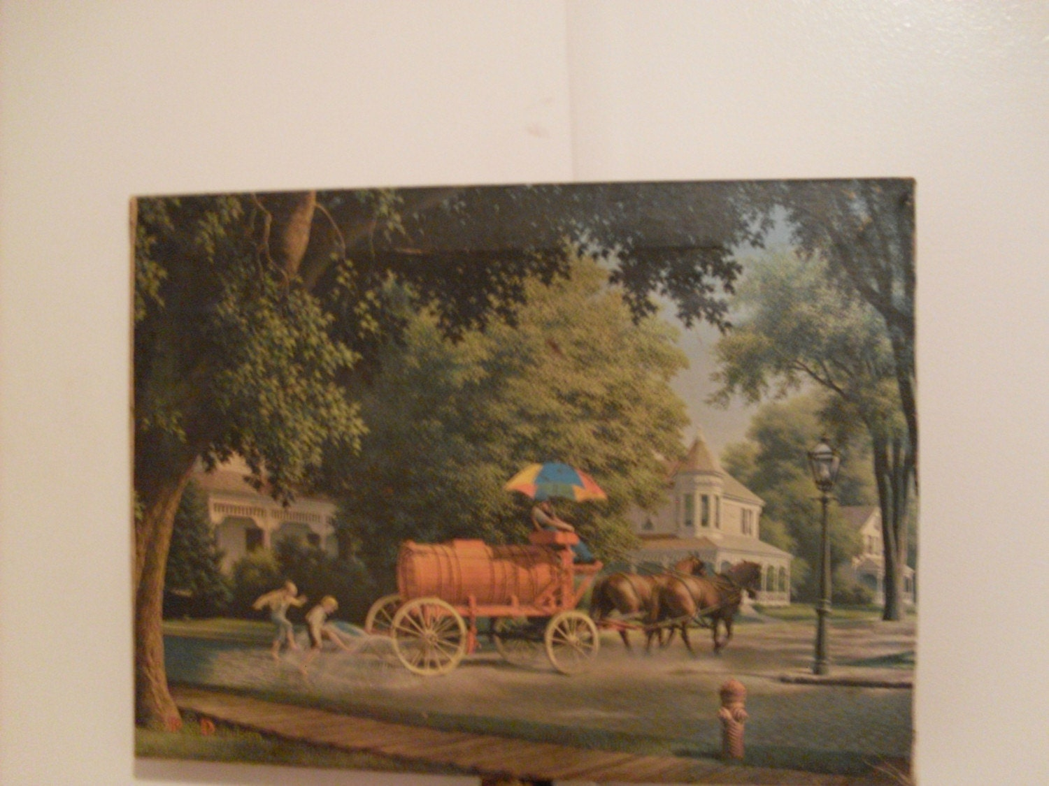 Paul Detlefsen Painting On Canvas By Backwhen On Etsy