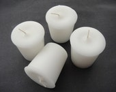 Coconut Lime Scented Votive Candles Set of 4