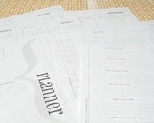 printable pdf A5 half letter size ( PLANNER & ORGANIZER )