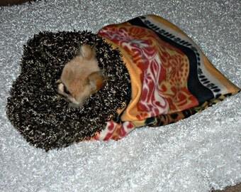 South Western Pet Sac with Fur