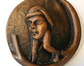Mr Nobody - Blemmyae-Reproduction Medieval Misericord Carving.