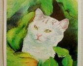 Jungle Cat Card