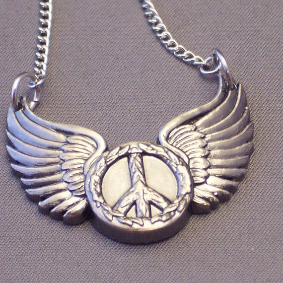 This is a custom listing for Michael. Peace Wing Metal Pieces