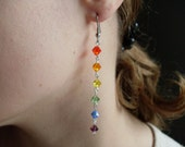Swarovski Crystal Rainbow Earrings