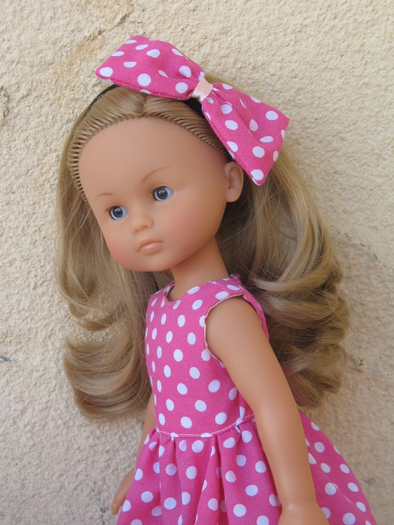 Corolle Les Cheries Doll Dress with Headband(LAST ONE)